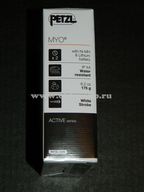 светодиодный фонарь Petzl MYO стоимость