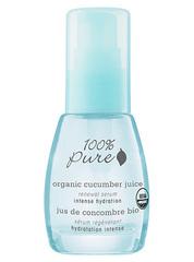 Органическая сыворотка для лица «Огуречный сок», 100% Pure