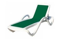 Шезлонг пластиковый Capri Green