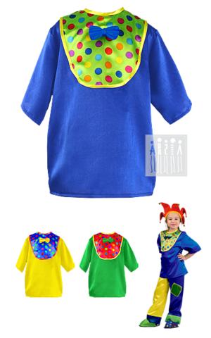 Фото Клоун Тяп - Ляп ( рубашка с манишкой ) рисунок Цирковые костюмы для детей и взрослых от Мастерской Ангел. Вы можете купить готовый или заказать костюм для цирка по индивидуальному дизайну.