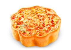 Киш с козьим сыром и томатом, 180г