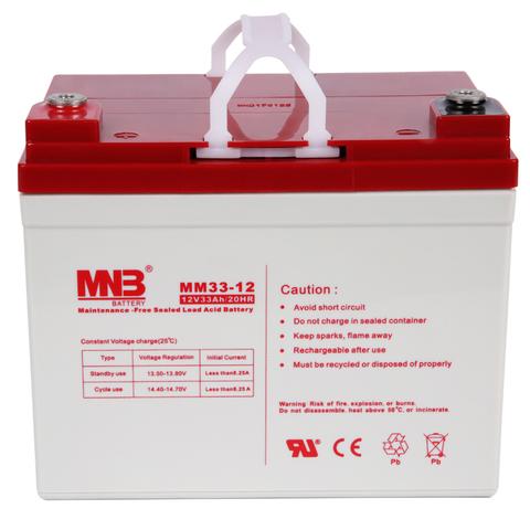 Аккумулятор MNB MM 33-12 - фото 2