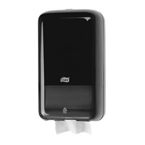 Диспенсер для туалетной бумаги листовой Tork Т3 556008 черный