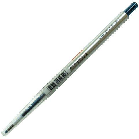 Гелевая ручка 0,28 мм Uni Style Fit - Blue-Black - сине-чёрные чернила