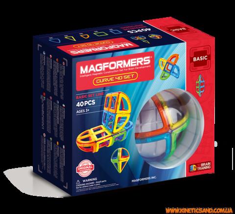 Magformers 40 элементов. Набор Дуга Магформерс