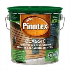 Пропитка для защиты древесины Pinotex CLASSIC (красное дерево)