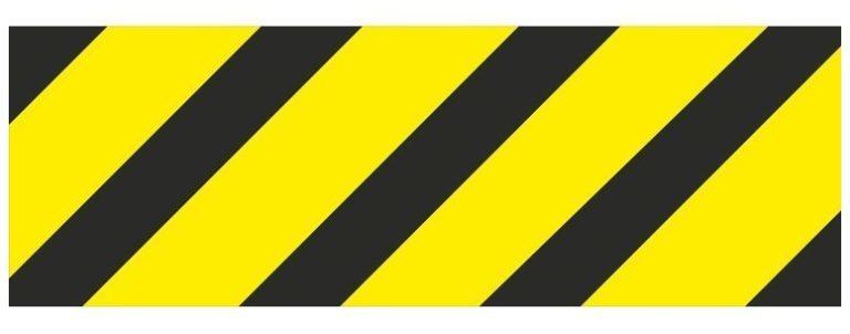 Железнодорожный знак «Негабаритность»
