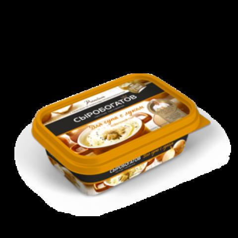 """Сыр плавленный """"Сыробогатов"""" для супа с луком (ванночка) 200г"""