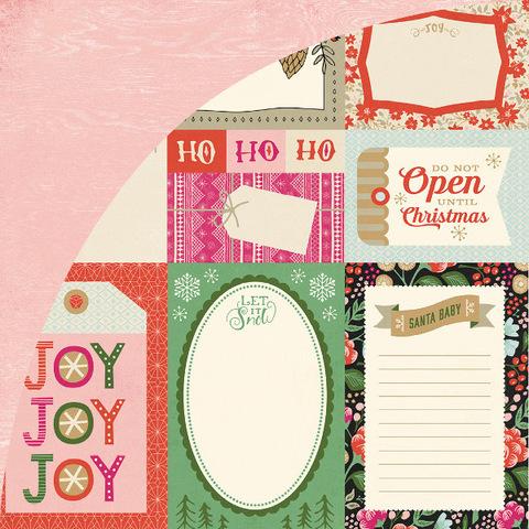 Лист с журнальными карточками 30*30см JUNIPER BERRY от Basicgrey