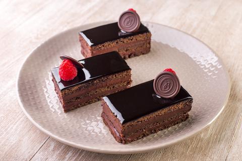 Пирожное «Шоколадный бисквит»