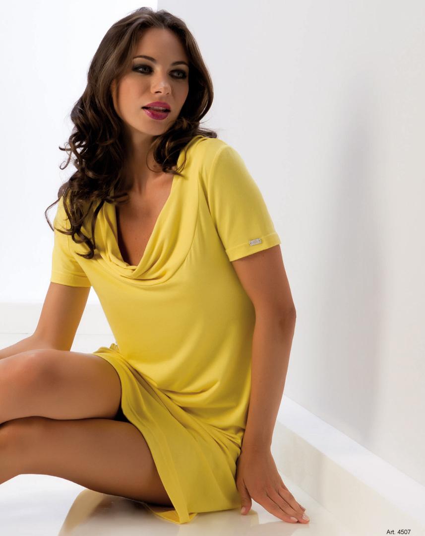 Желтое летнее платье B&B