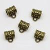 Бейл 11х9х7 мм (цвет - античная бронза) , 5 штук