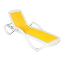Шезлонг пластиковый Capri Yellow