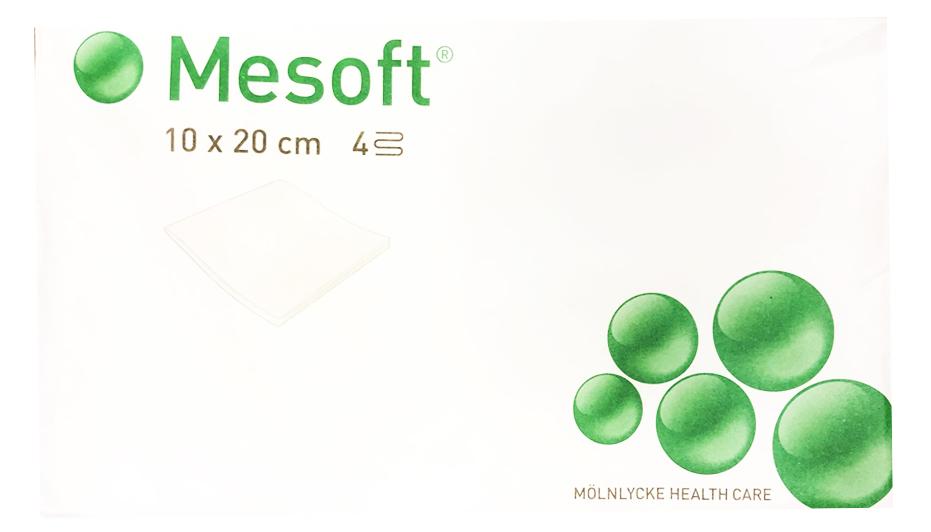 Месофт (Mesoft) 30г/м2 10х20см в коробке 100шт.