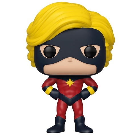 Фигурка Funko POP! Bobble: NYCC Exc: Marvel: 80th First Appearance: Captain Mar (Exc) 43362