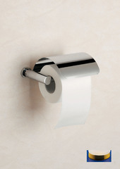 Держатель туалетной бумаги с крышкой Windisch 85451OV Plain