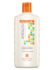 """Кондиционер для увлажнения волос """"Аргановое масло и масло Ши"""", Andalou Naturals"""