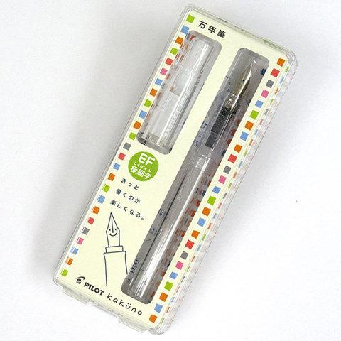 Перьевая ручка Pilot Kakuno 2017 (демонстратор, перо Extra-Fine)