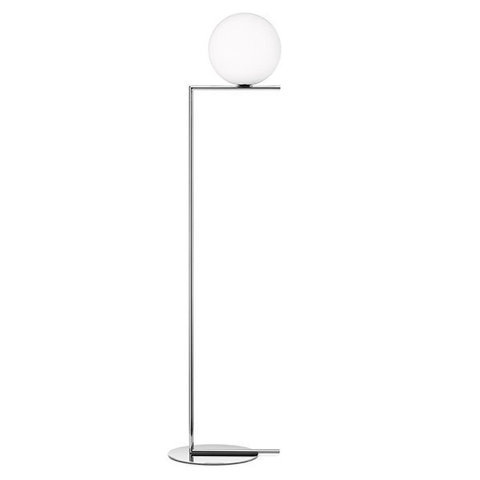 replica FLOS IC F2 CHROME  FLOOR LIGHT