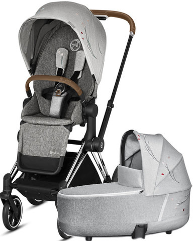 Коляска 2 в 1 Cybex Priam III Koi Crystallized