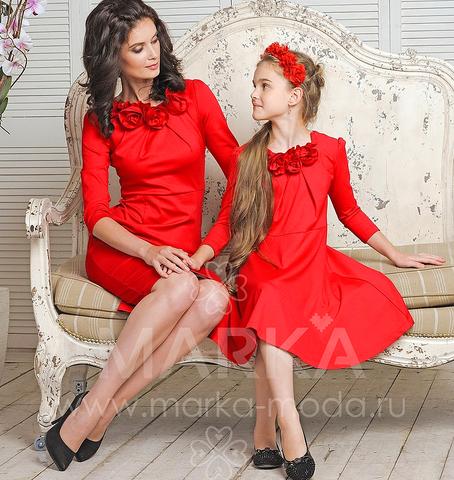 Платья для мамы и дочки пермь