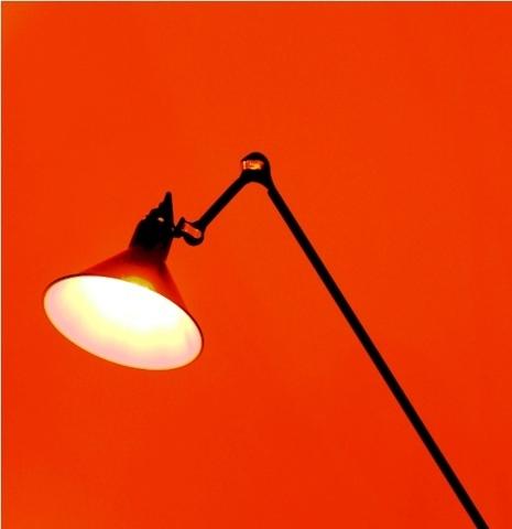 Replica lampe gras 215 floor lamp black brass for Kartell lampe replica