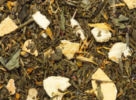 Зеленый чай Прохладное искушение (лимон-перечная мята)