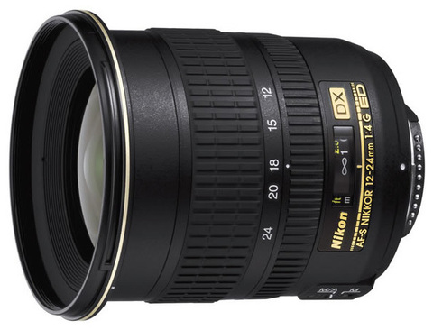 Nikon 12-24mm f/4G ED-IF AF-S DX Zoom-Nikkor (Japan)