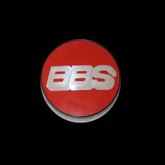 Крышка центрального отверстия BBS Nurburgring Edition 70.6 мм silver/red