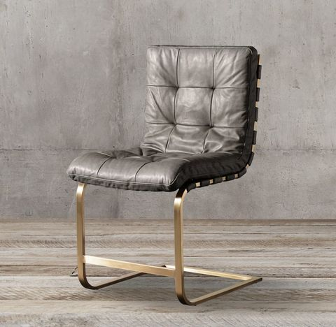 Rossi Leather Side Chair
