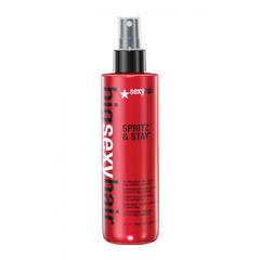 Sexy Hair Big Spritz And Stay - Лак неаэрозольный экстра-сильной фиксации для объема