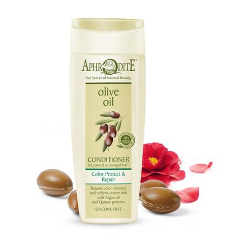 Кондиционер для окрашенных и поврежденных волос Защита цвета и восстановление Aphrodite 200мл