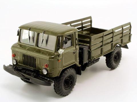 GAZ-66 flatbed truck khaki Agat Mossar Tantal 1:43 used