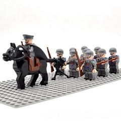 Минифигурки Военных Армия Италии серия 331
