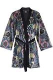 Цветочный велюровый халат и сорочка Le Chat