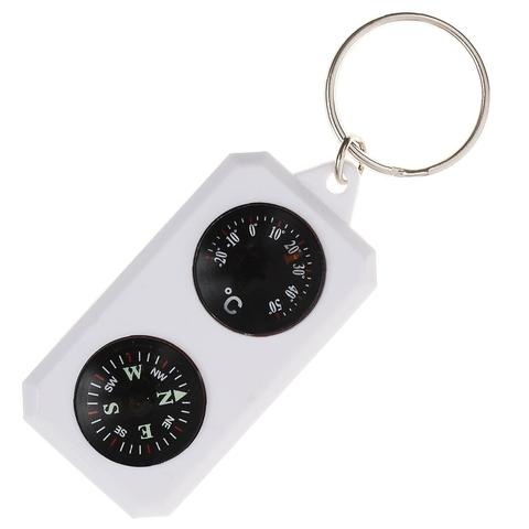 Sol компас-брелок с термометром SLA-003 (пластик)