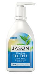Антибактериальный гель для душа с маслом чайного дерева, Jason