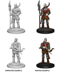Pathfinder Deep Cuts Unpainted Miniatures - Town Guards