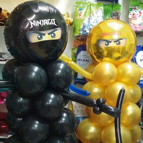 Фигура из шаров Ninjago