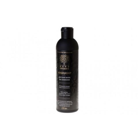 Кондиционер для сухих и поврежденных волос, Nano Organic