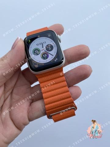 Ремешок Apple watch 42/44mm Leather Loop /sunset/ оранжевый