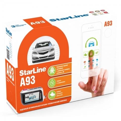 Автомобильная сигнализация StarLine A93
