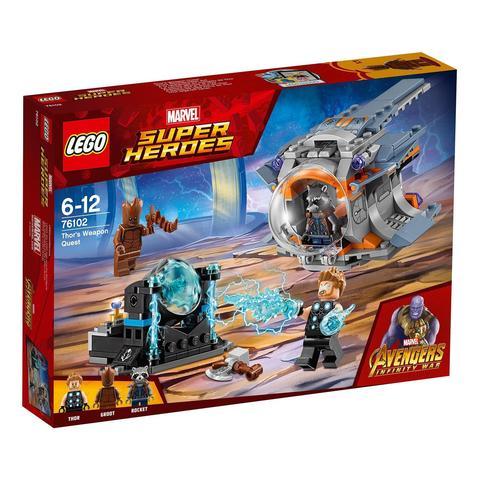 LEGO Super Heroes: В поисках оружия Тора 76102 — Thor's Weapon Quest  — Лего Супергерои Марвел