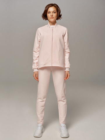 Женские розовые брюки LE TRICOT - фото 1