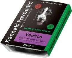 Влажный корм для собак всех пород и возрастов Kennels`Favourite 100% Venison Свежепареное мясо с олениной
