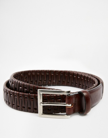 ASOS Woven Leather Belt