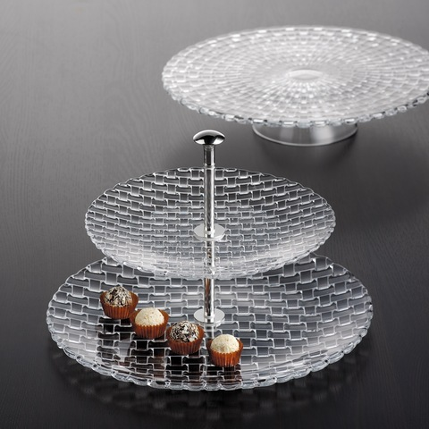 Bossa Nova Two Tier Tray Large