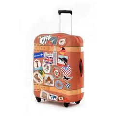 чехол для чемодана экстрапрочный «винтаж»