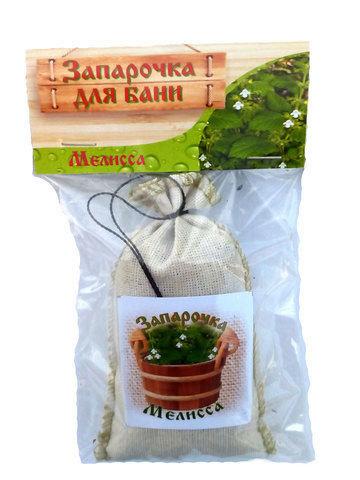 Запарочка для бани МЕЛИССА 30 грамм