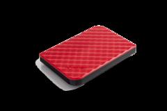 Внешний жесткий диск 1TB Verbatim Store 'n' Go Style, 2.5 дюйма, USB 3.0. Красный